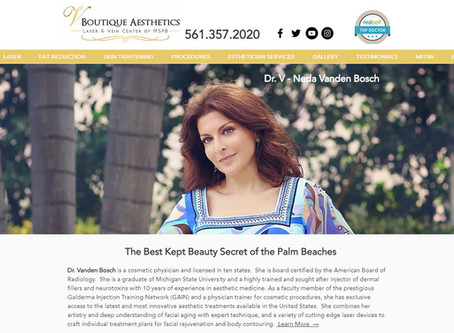 V Boutique Aesthetics Announces Launch of New Website