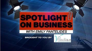 Spotlight on business logo