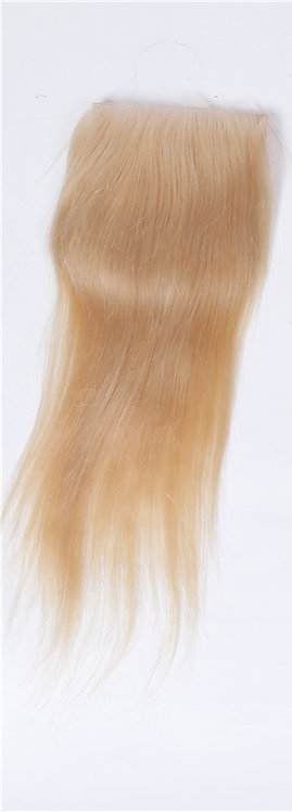 Russian Straight Blonde (613) Lace Closure