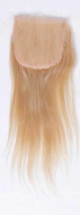 Russian Straight Blonde (613) Silk Closure