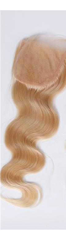 Russian BodyWave Blonde (613) Silk Closure