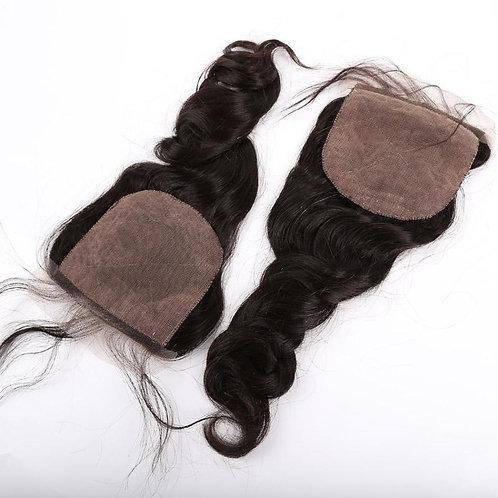 Indian Loose Wave Silk Closure