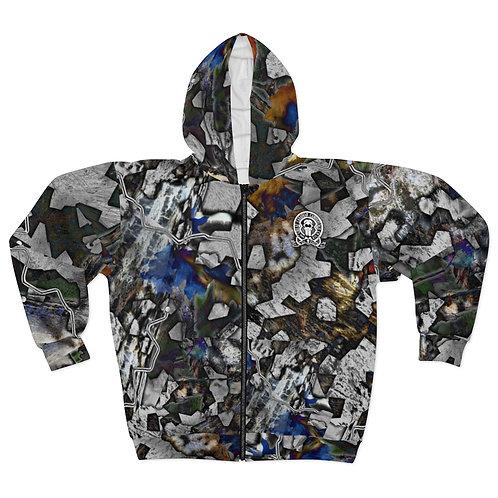 Titanium Camouflage™ Zip-Up Hoodie