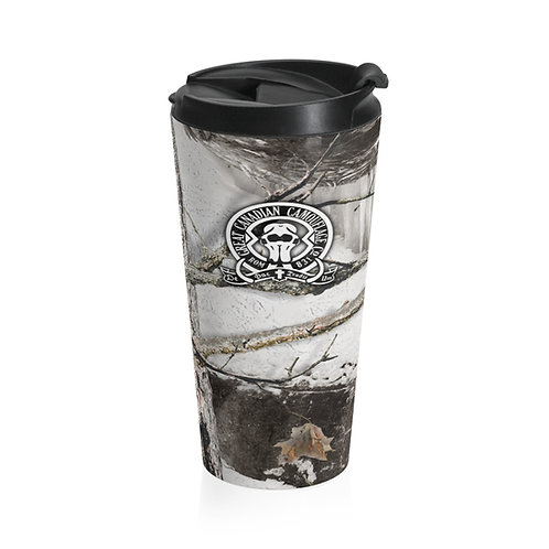 Great White North Camouflage™ Stainless Steel Travel Mug
