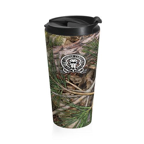 Borealis Camouflage™ Stainless Steel Travel Mug