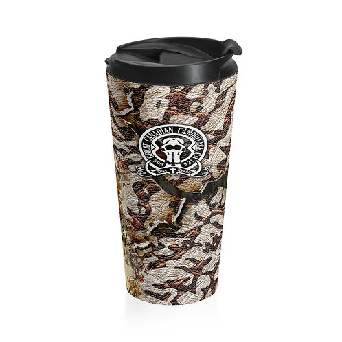 Athabaska Dawn Camouflage™ Stainless Steel Travel Mug