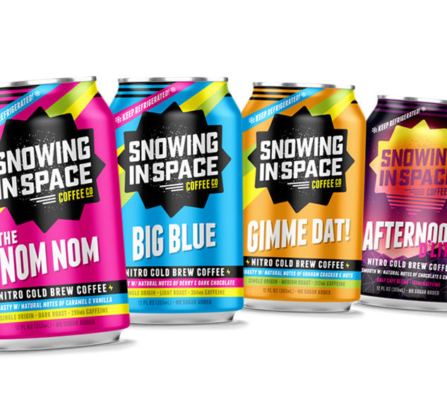 Snowing In Space Cans