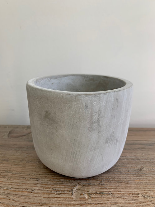 Cement Pot Round