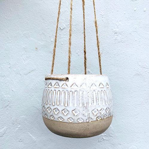 Aztec Hanging Pot