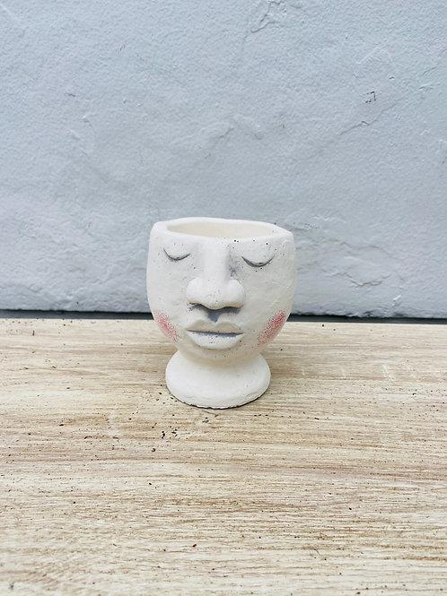 Blushing Pedestal Pot