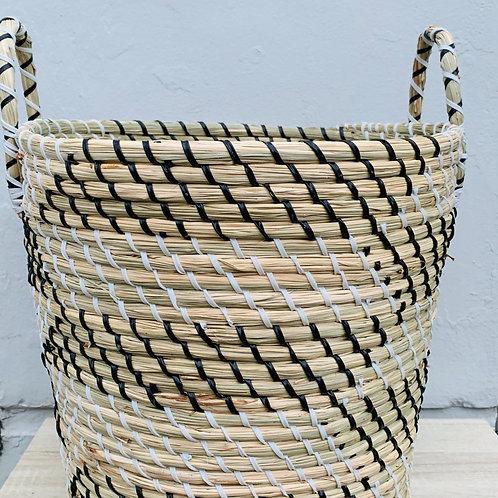 Seagrass Basket Stripe