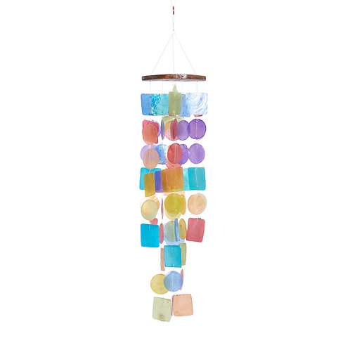 Capiz Multi Windchime