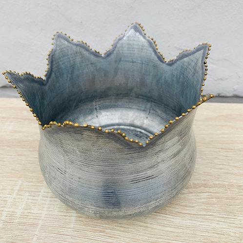 Metal Tulip Pot
