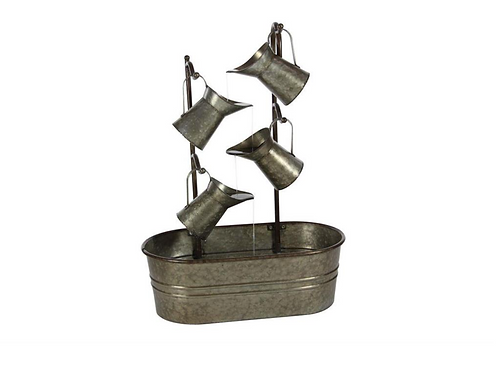 Metal Pitcher Fountain