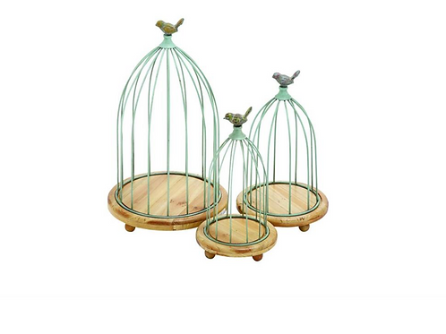 Bird Cage Plant Stand