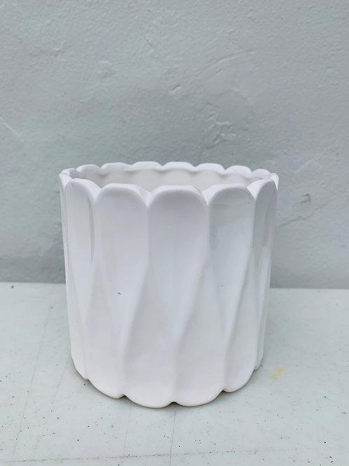 Modern White Pot