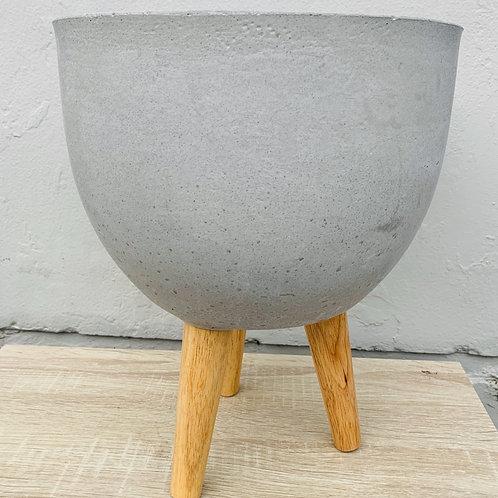 Fibre Clay Planter (round)