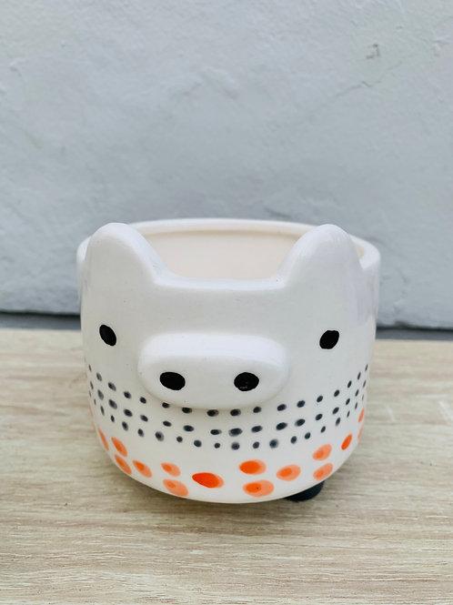 Mini Pig Pot