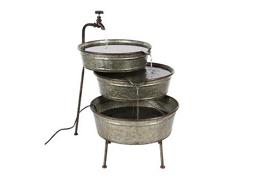 Triple Barrel Fountain