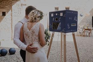 Découvrez nos modèles de photobooth pour vos mariages et f^tes professionnelles