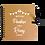 Thumbnail: Livre d'or en kraft personnalisé GUINGUETTE