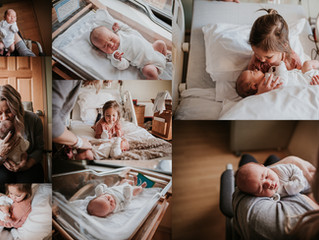 St. Louis Fresh 48 Photographer | Alton Memorial Hospital | Fresh 48 - Baby Ezra