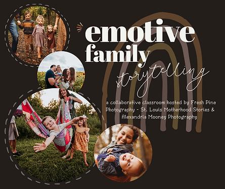 Emotive Family Storytelling