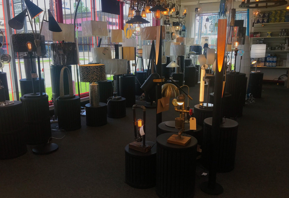 Table, Floor and Ceiling Lamps