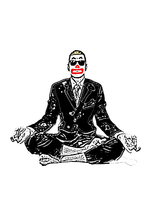 High Octane Meditation Sticker