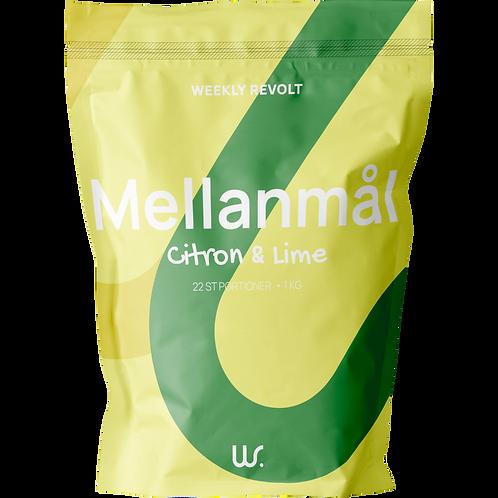 Mellanmål - Citron/ lime