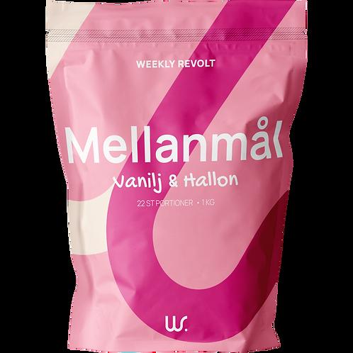 Mellanmål - Hallon/ vanilj