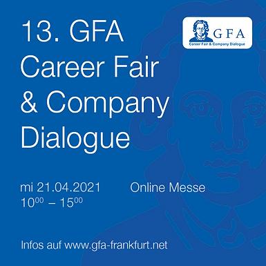 13. GFA Career Fair and Company Dialogue