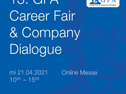 13. GFA Career Fair & Company Dialogue