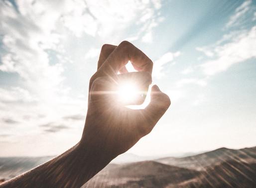 Die Sonne ausknipsen