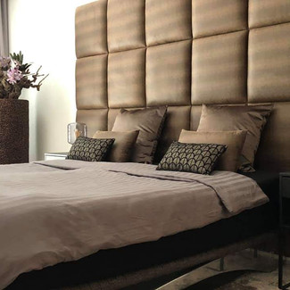 Luxury Walls stoffering Snake Brown afmetingen 50x50 cm