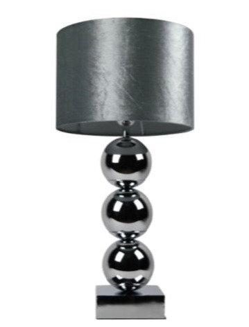 Tafellamp AURORA Silver 94cm