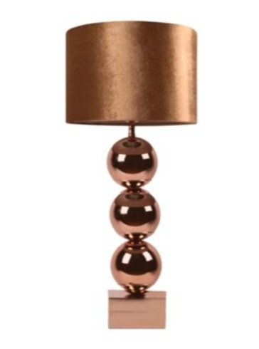 Tafellamp AURORA brons 94cm