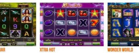 How to play slot machines in online casinos?