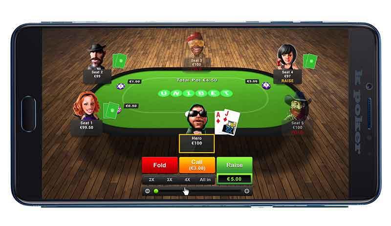 Poker Table Online
