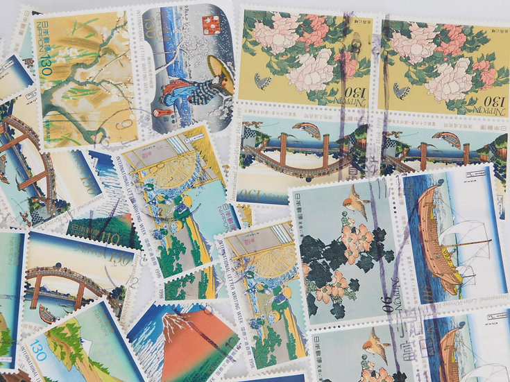 <300pcs> International Philatelic Letter used  OFF paper free shipの複製