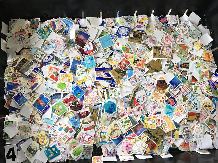OFF paper 4000pcs 52,62,82,92 yen commemorative Free ship 4