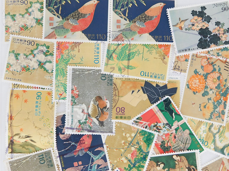 <100pcs> International Philatelic Letter used  OFF paper free ship