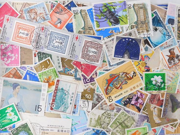 <1000pcs> Mix commemorative 70% used  OFF paper free ship