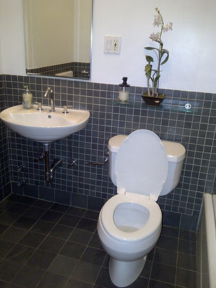 Full Bathroom -Sink, Toilet, Shower & Separate Tub