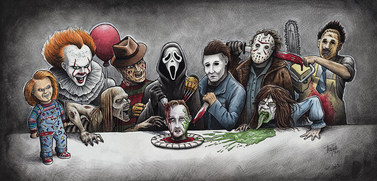 Legends of Horror Last Supper