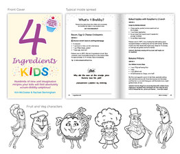 Kim McCosker &  Rachael Bermingham '4 Ingredients KIDS'