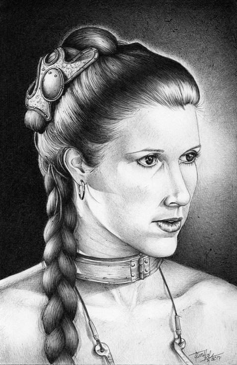 Leia Organa / Carrie Fisher