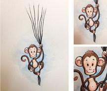 Floating Monkey