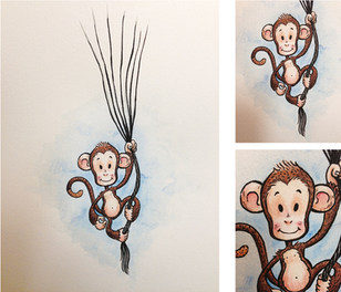 Floating Monkey