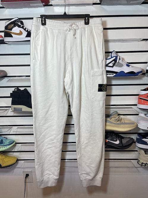 Supreme Stone Island Sweats White Sz XL